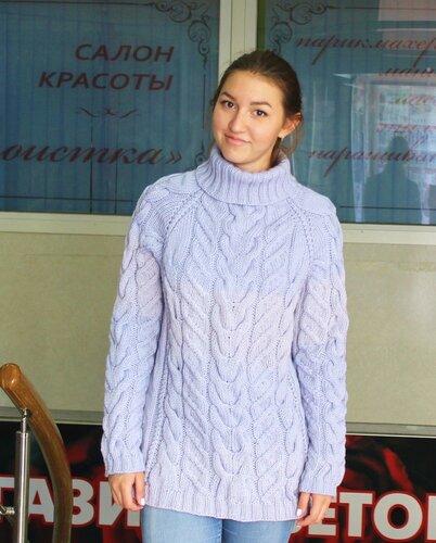 свитера ручной работы