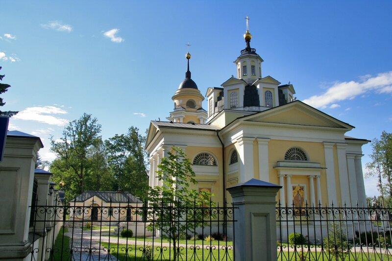 Николо-Прозорово, Церковь Николая Чудотворца и колокольня