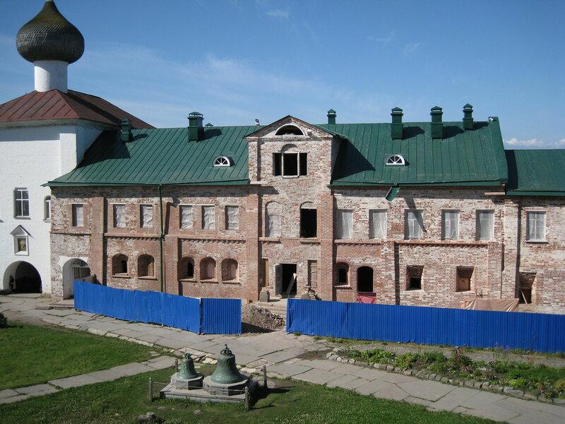 Южная часть 1590-е г.г. Соловки. Настоятельский корпус. Фотографии архитектора-реставратора Дмитрия Куликова