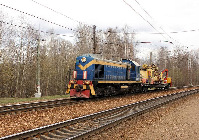 ТЭМ2-5320 на станции Подмосковная