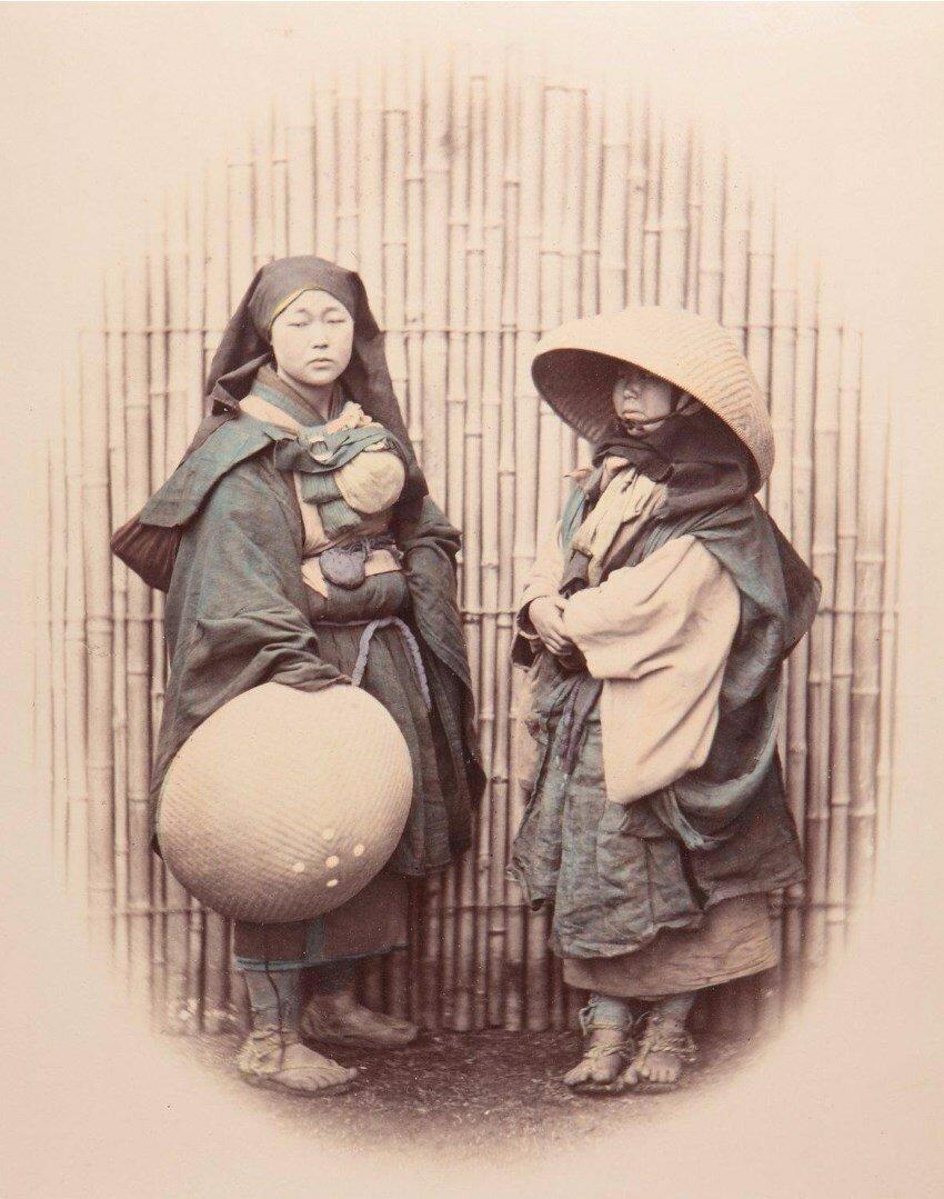 Монахиня и нищий, ок 1865