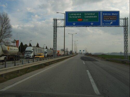 Автобан Едирне - Стамбул
