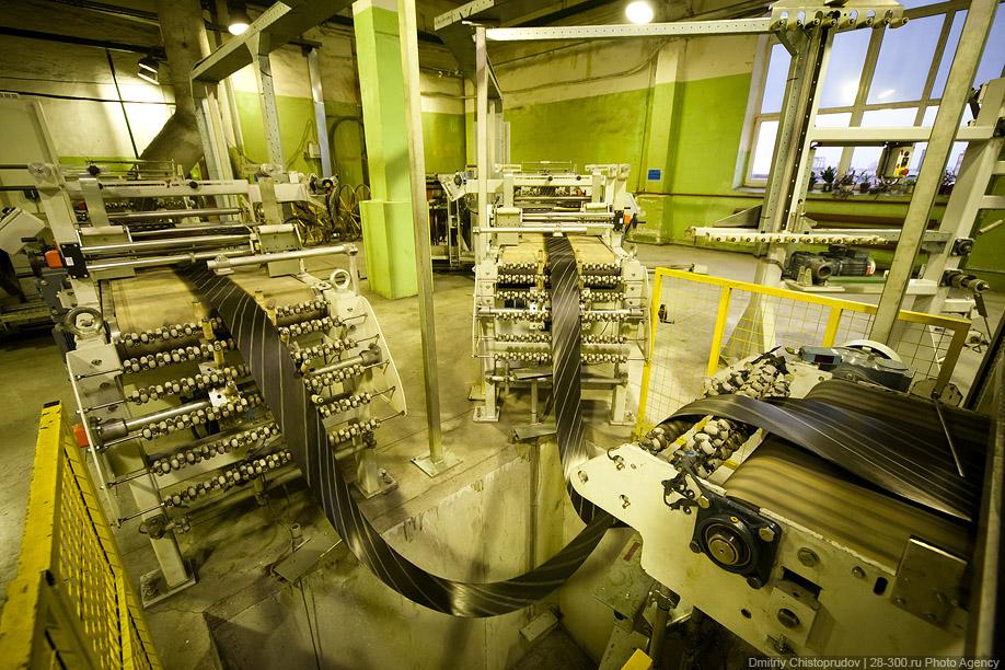 борудование по производству резиновых шин