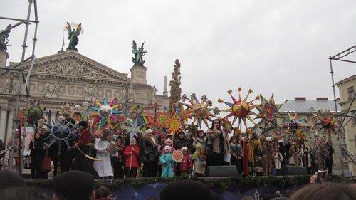 Парад Рождественских звезд