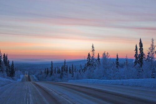 дорога в Мурманск