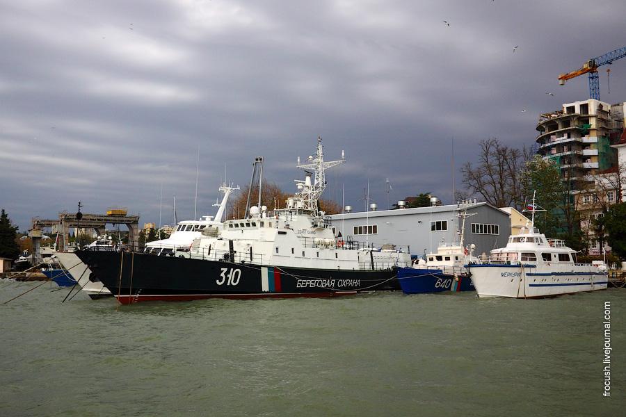 Корабли береговой охраны ФСБ России