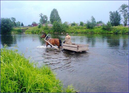 Знаток Золотого брода. Деревня Шилова, река Исеть.