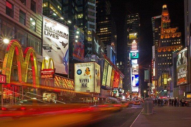 Таймс-сквер (Times Square). Нью-Йорк
