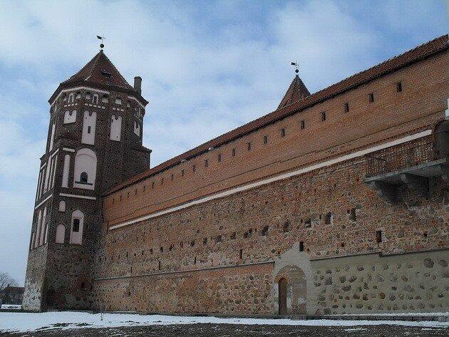 Мирский замок. Беларусь