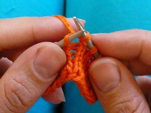 0 4544b 8627525d L Уроки вязания спицами. Как связать шишечки спицами.