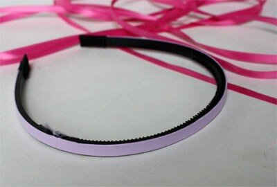 0 46bc4 50810862 L Аксессуары для волос своими руками: делаем обруч из ленточек