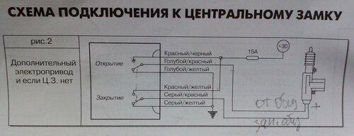 Ваз 2110 схема концевых выключателей