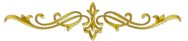 Разделители золотистые с разными цветами. - Помощь в создании вашего дизайна в дневнике- я.ру