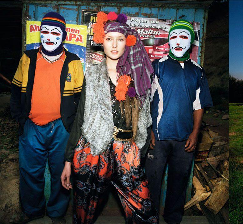 Меган Коллисон и Соланж Вильверт / Meghan Collison and Solange Wilvert by Thierry Le Goues