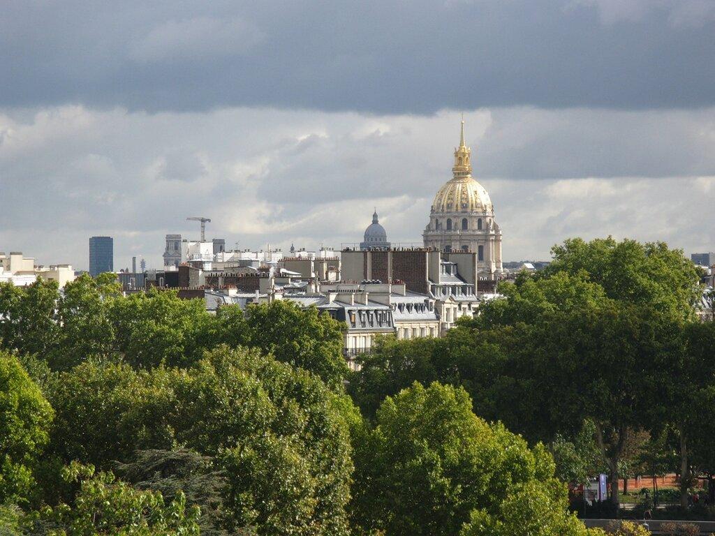 Париж. Вид с площади Трокадеро