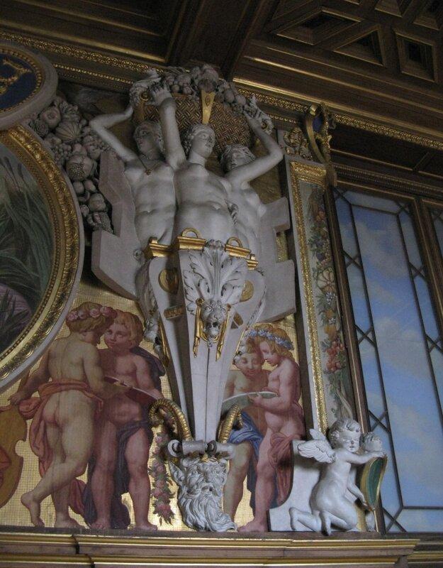 Дворец Фонтенбло. Интерьеры