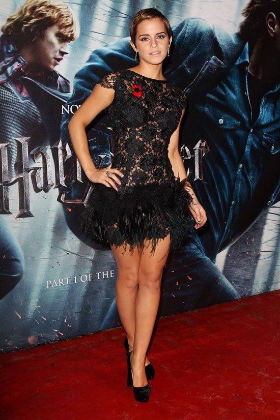 "Emma Watson  ""Deathly Hallows"" London Premiere"