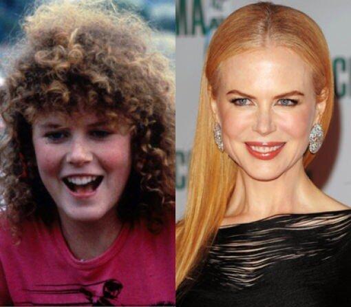 Большая разница.Nicole Kidman