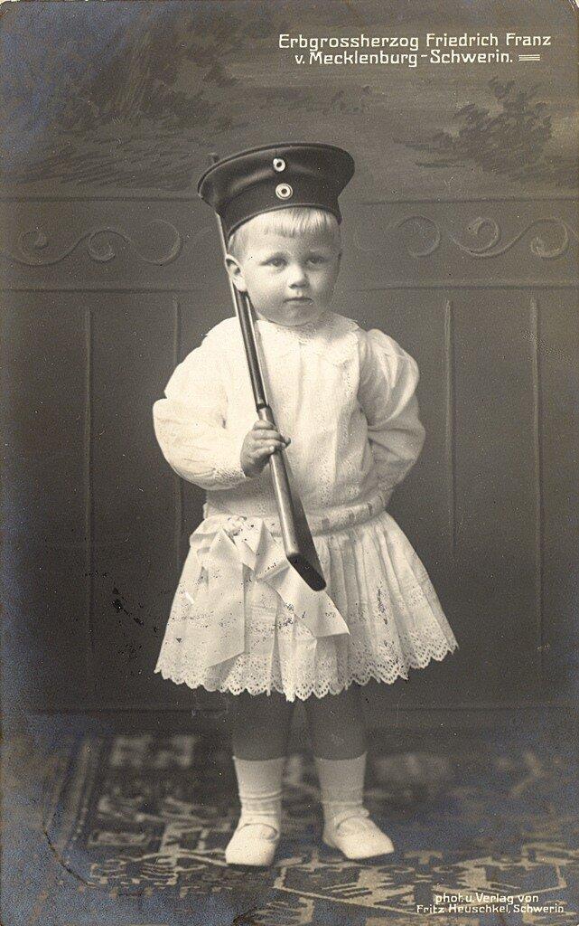 Фридрих Франц, потомственный великий герцог Мекленбург-Шверина 1912