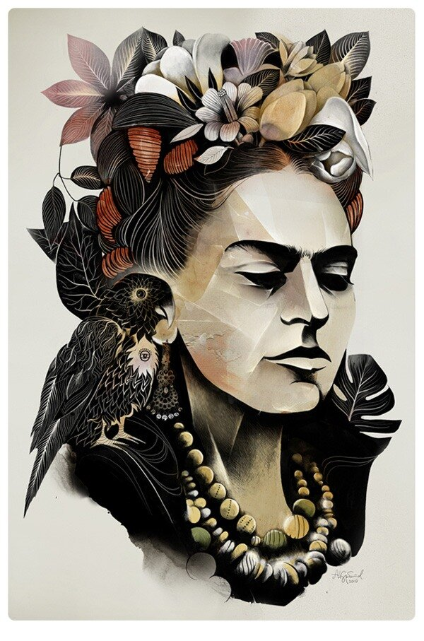 Иллюстрации  Alexe Kurbatova