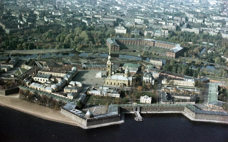 1960е Петропавловская крепость. В. Тарасевич.jpg