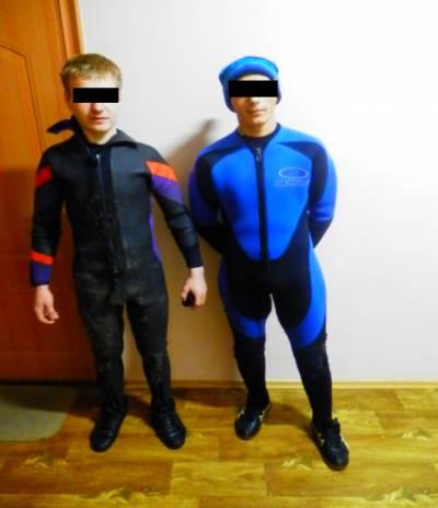 Пограничники задержали контрабандистов-водолазов на Закарпатье. ФОТО