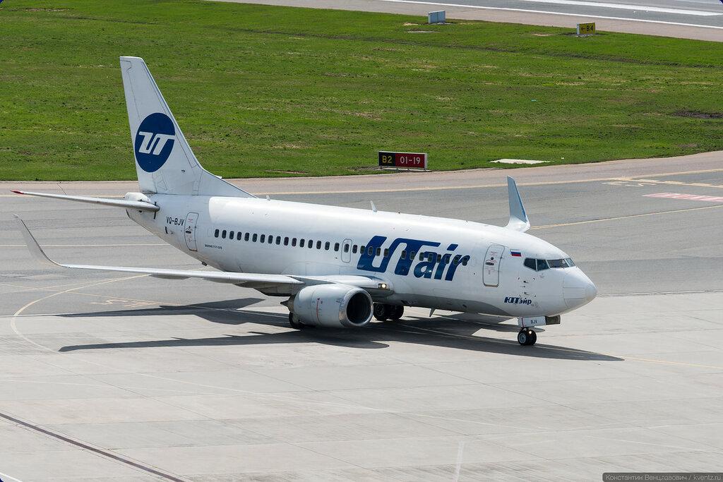 К телетрапу международных рейсов заруливает UTair