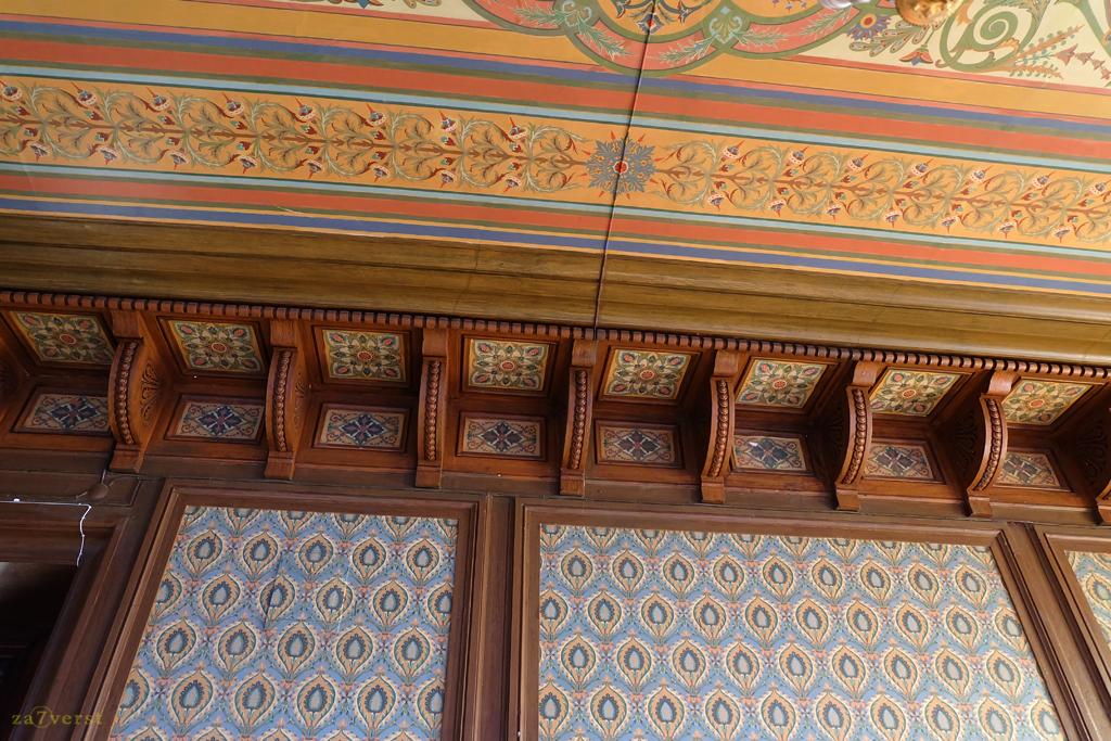 Дом-особняк М.А. Павлова в Шуе, интерьер, потолки