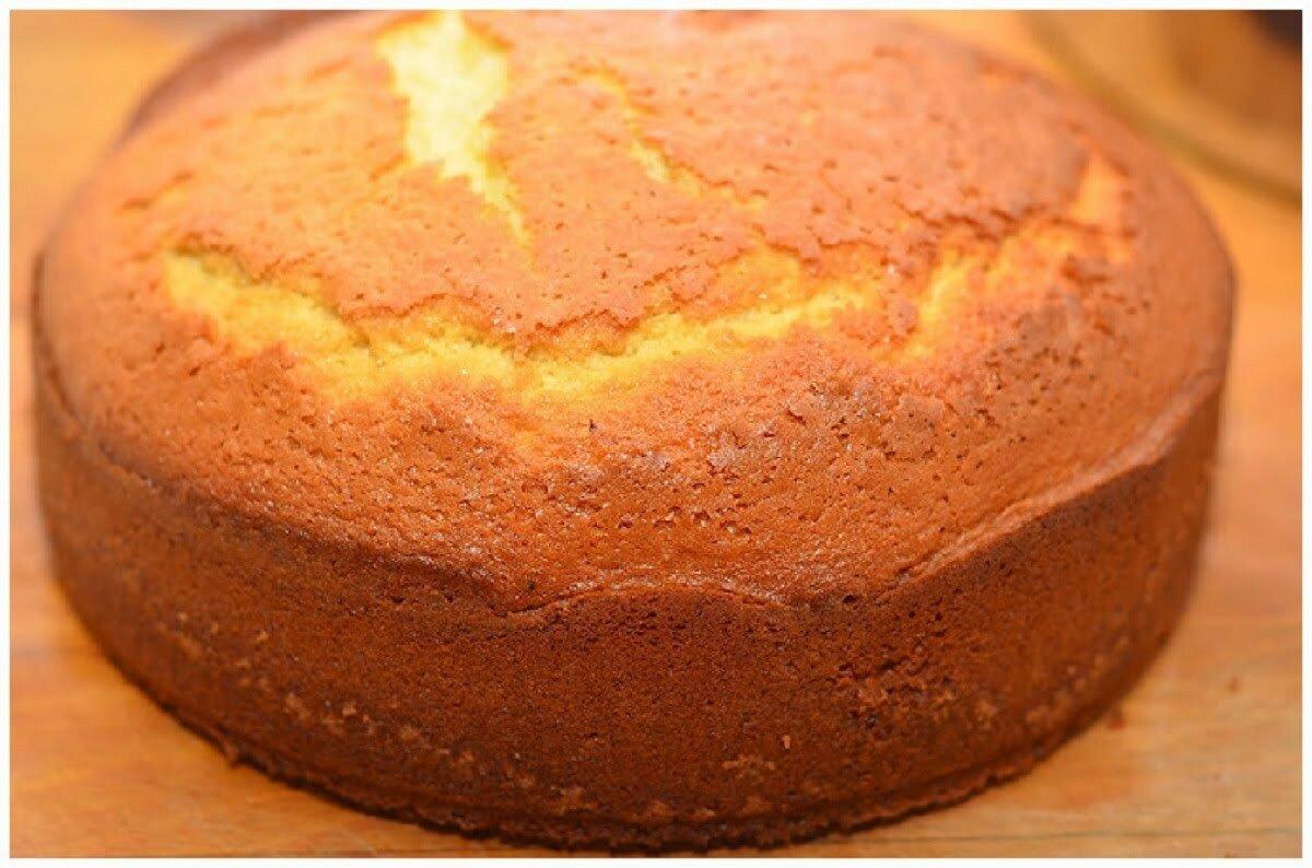 Как сделать тесто на бисквитный торт