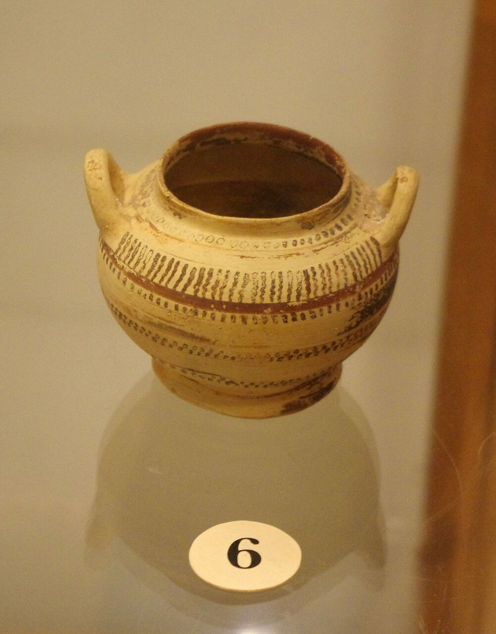 Сосуд с ручками. Беотия. VIII в. до н.э.
