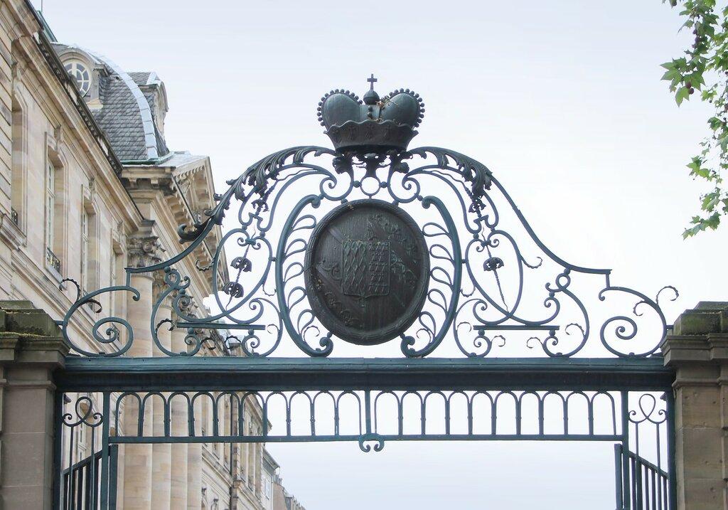 Страсбург. Терраса Рогана (Terrasse Rohan)