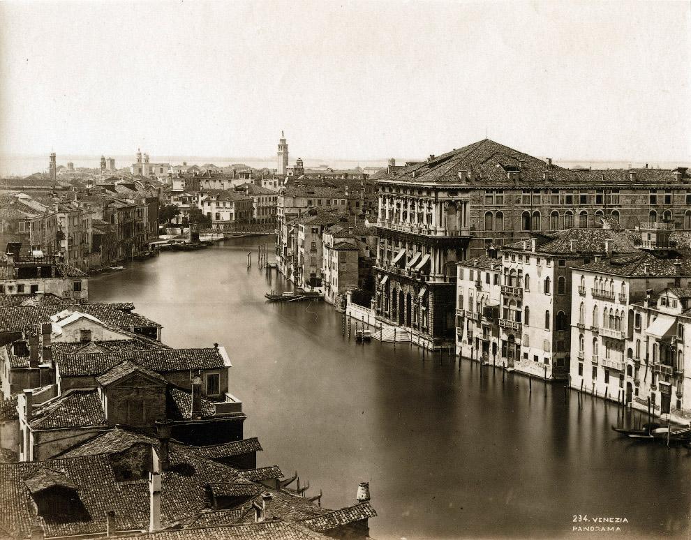 24. Панорама Венеции с колокольни Святого Марка.