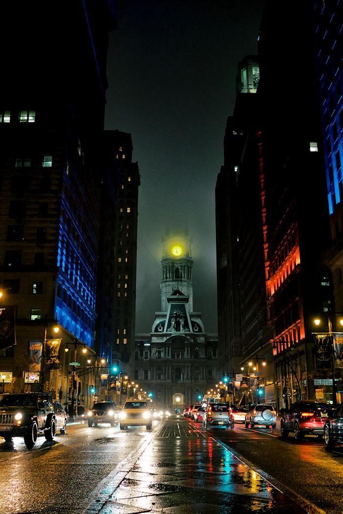 Здание муниципалитета Филадельфии.