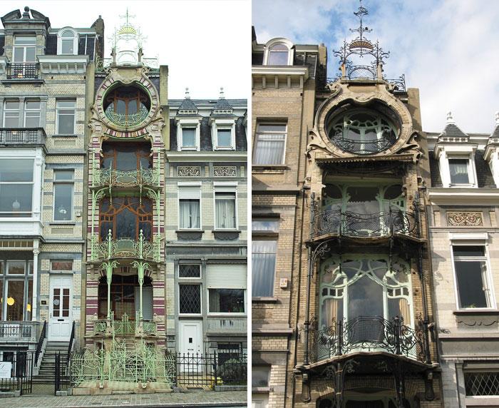 Дом Сен-Сир в Брюсселе.
