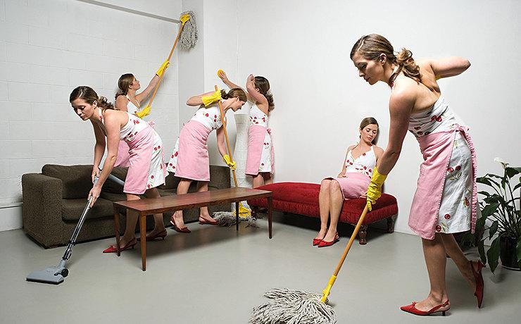 Женщины зачастую больше озабочены порядком, чем мужчины. Психолог Оксана Ветохина утверждает, что эт