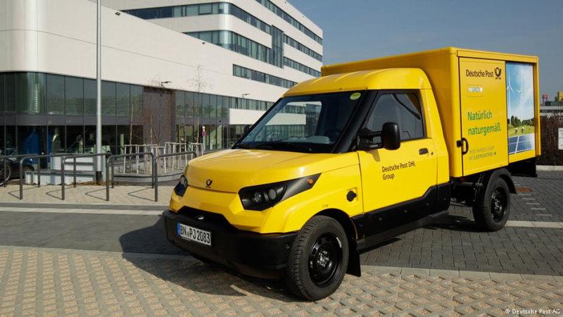 Через несколько лет посылки по всей Германии будут развозить на таких электромобилях  Со след