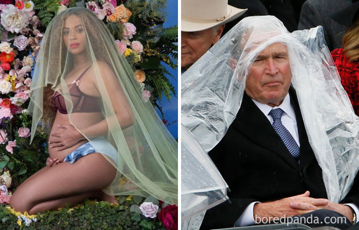Бейонсе или Джордж Буш?
