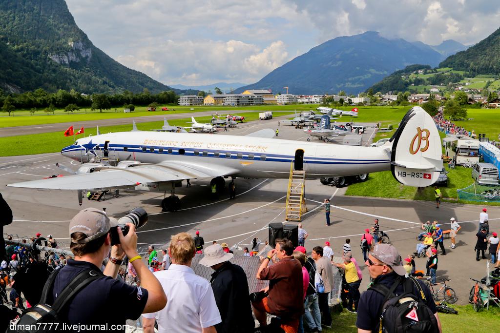 Zigermeet - самое большое авиашоу Швейцарии