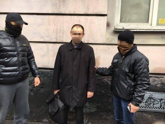 ВОдесской области милиция поймала очередного взяточника изВСУ