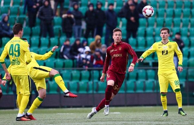 Взаключительном матче 18 тура РФПЛ «Рубин» сыграет с«Анжи»