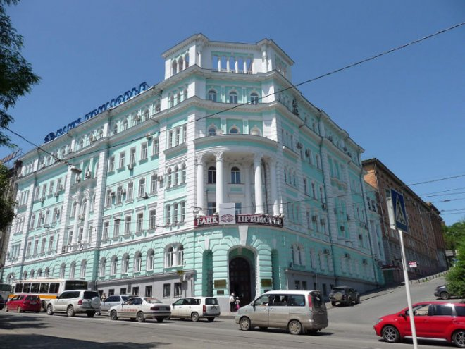 СКпровел обыски вголовном офисе банка «Приморье»