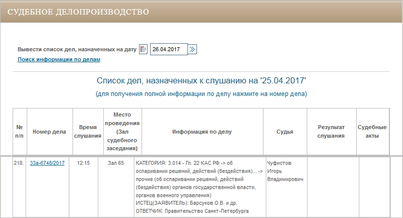 ДЕЛО № 33а-6748/2017