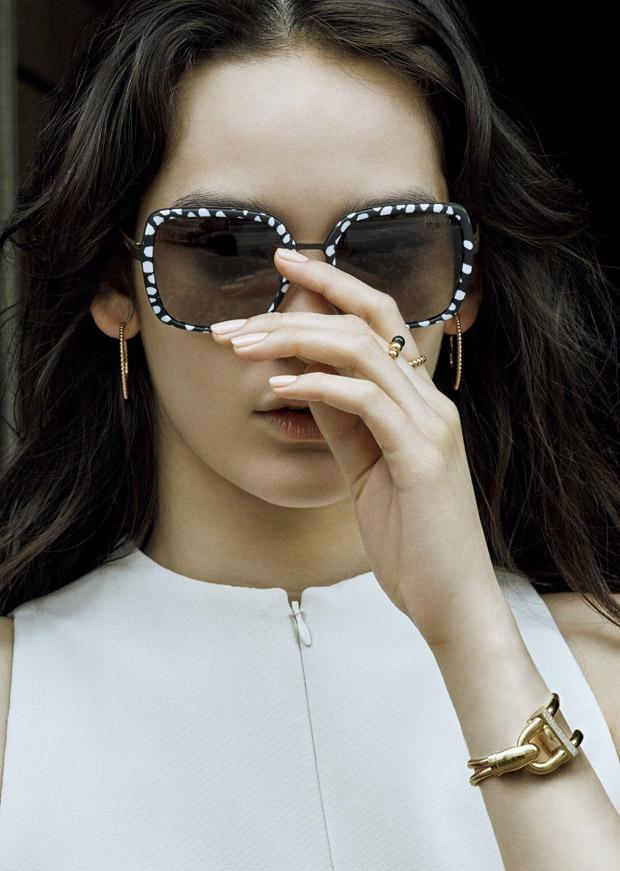 Mona Matsuoka for Vogue Japan by David Dunan