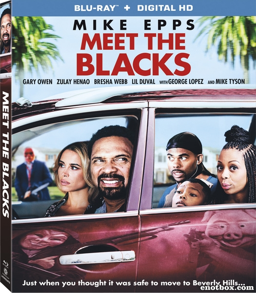 Знакомьтесь, семейка Блэков / Meet the Blacks (2016/BDRip/HDRip)