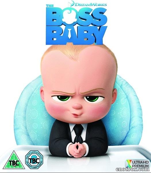 Босс-молокосос / The Boss Baby (2017/TS)