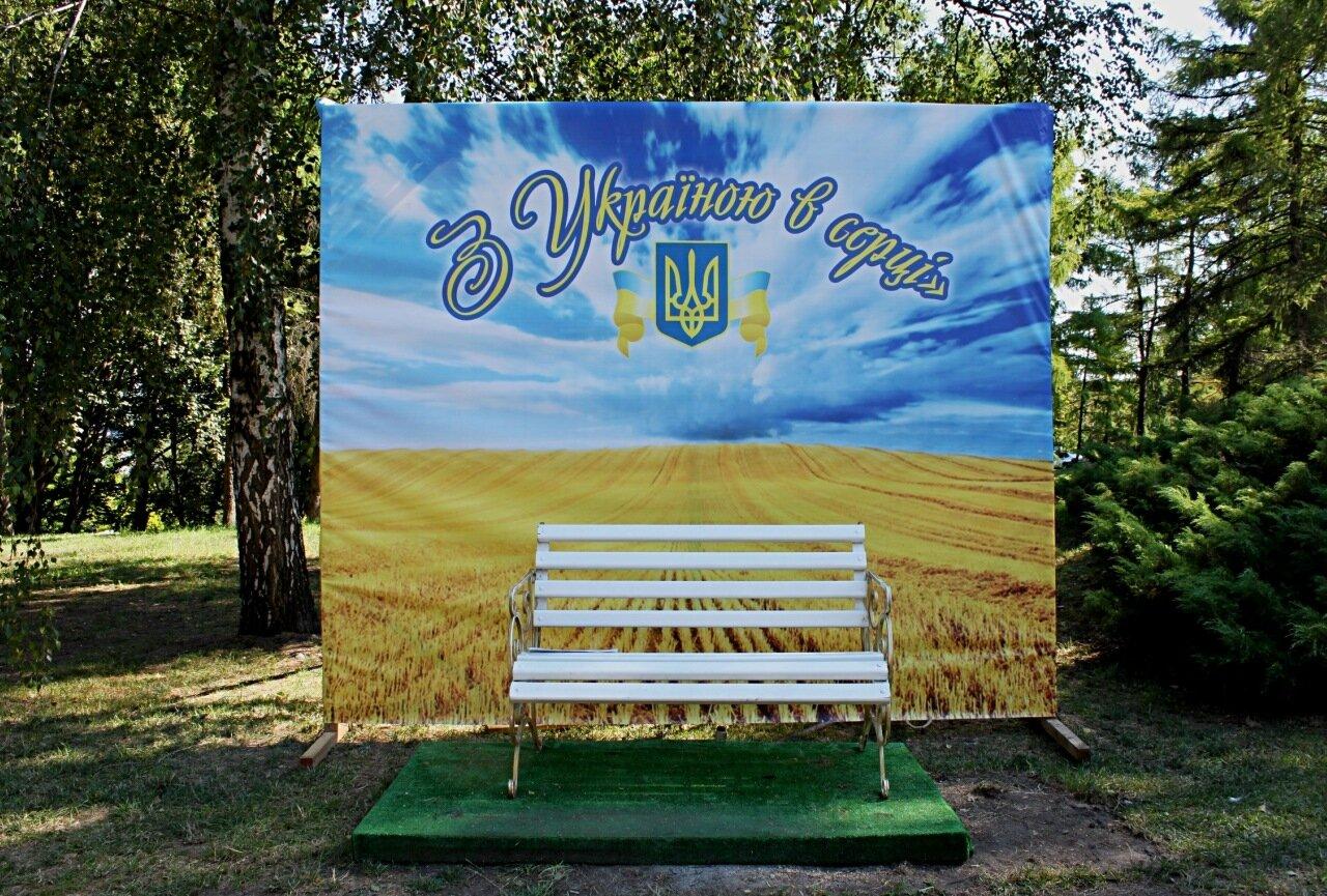 """Фон """"С Украиной в сердце"""""""