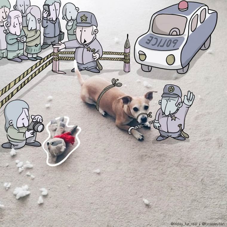Photo Invasion - Dessiner des doodles sur les photos Instagram des autres utilisateurs