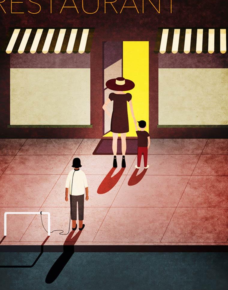 The satirical illustrations of Hsu Kai Ti