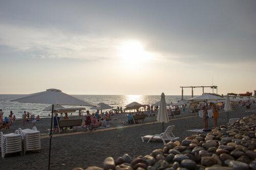 Адлер 2016. Море. На пляже