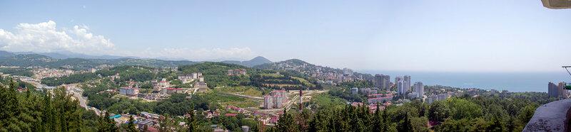 Адлер-Сочи 2016. Дендрарий (панорамы)